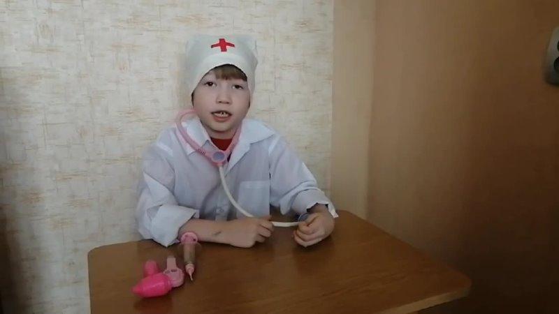 Хрущев Лев 7 лет МБДОУ Детский сад №104 А Барто В кошачьей неотложке