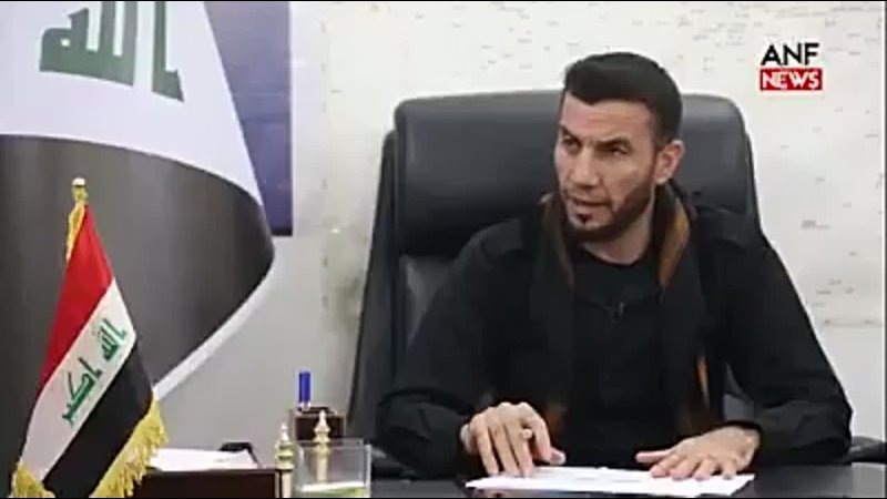Хал Али дает интервью для ANF NEWS