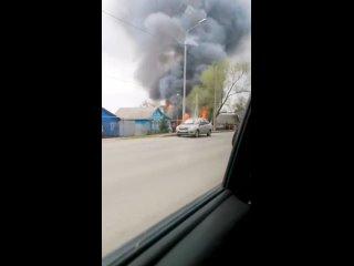 Пожар на Короленко. Химмаш. Саранск
