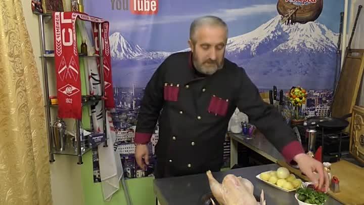y2mate.com - Курица с яблоками в духовке в рукаве Сочный и мощный рецепт Румяная корочка от соуса_360p