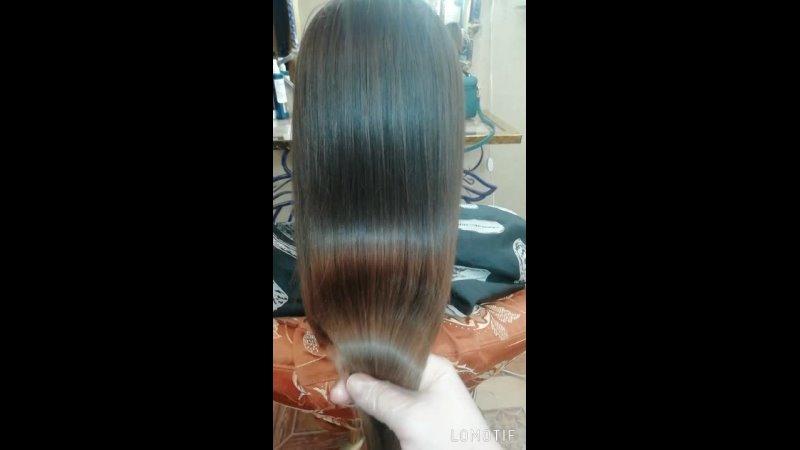 Кератиновое выпрямление волос для прекрасной Анечки❤️