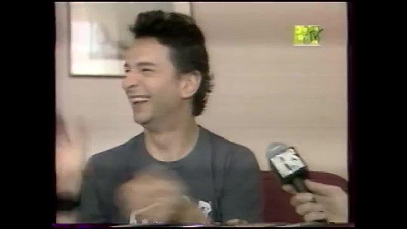 Дэйв Гаан в интервью российскому MTV