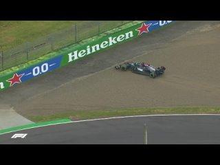 Lewis Hamilton Slides Off At Imola |