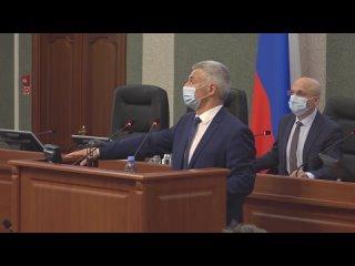 Сегодня Артур Парфенчиков представит в Заксобрании отчет о результатах деятельности Правительства Карелии в 2020 году