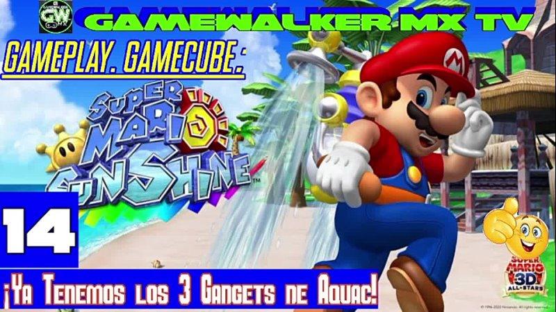 ¡Ya Tenemos los 3 Gadgets de Aquac Super mario sunshine cap 14 Español gamecube