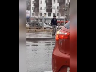 Танцующий ковбой в Казани