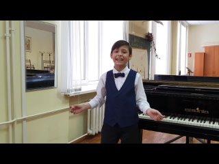 Газизов Камиль, 9 лет, г.Уфа, «Солист» (эстрадный вокал), 6-9 лет