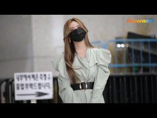 "[FANCAM] 210423 Qri - show MBC ""South Korean Foreigners"" filming"