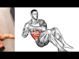 How to get v cut abs workout (Best 6 Exercise ).mp4