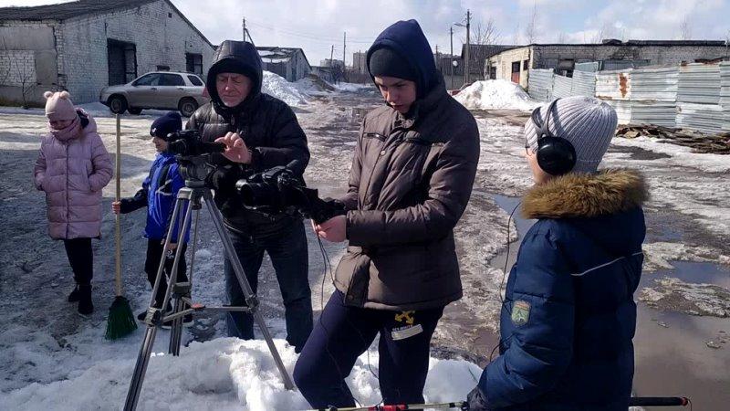 На съёмках ситкома Физрук на продлёнке