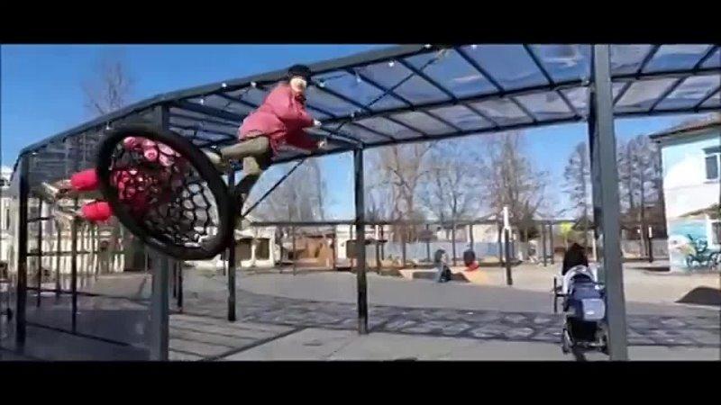Пространство со скейт парком воркаут зоной лекторием и танцполом в Новой Ладоге часть2