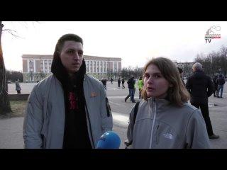 Как прошёл митинг на Софийской площади в Великом Новгороде 21 апреля