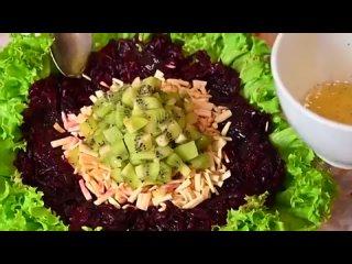 Съедят за минуту! Необыкновенно вкусный салат из обычной свеклы