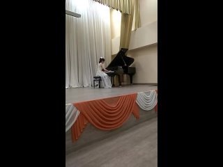концерт класса в муз.школе