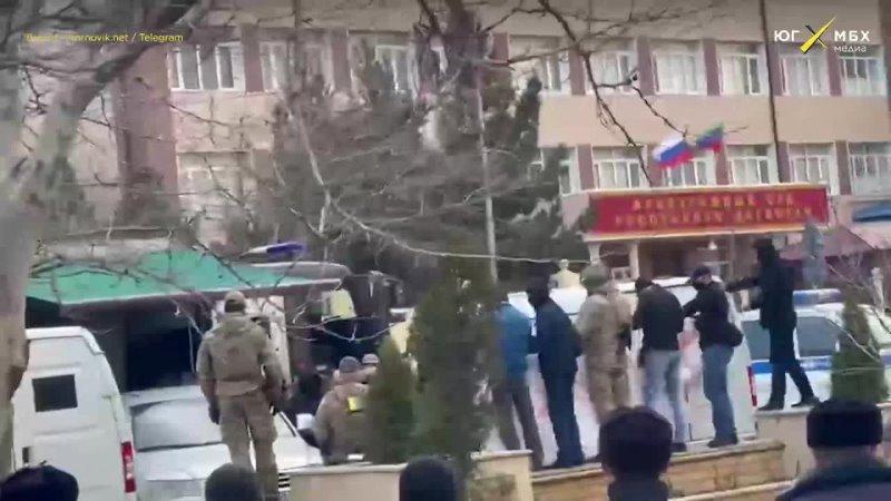 Задержание Ибрагима Гаджиева в Махачкале