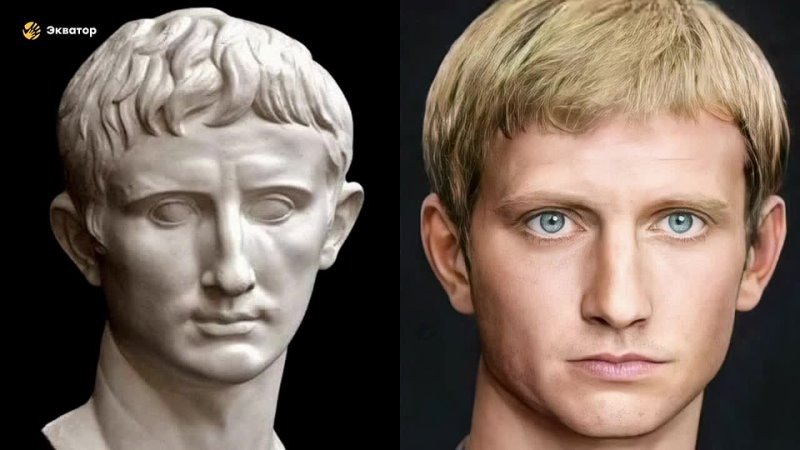 Взгляд из прошлого ожившие при помощи нейросетей скульптурные портреты римских императоров