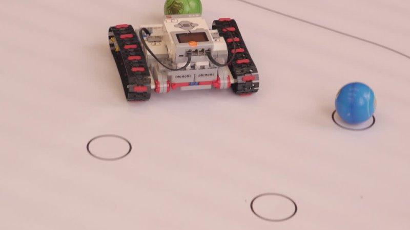 Региональные соревнования по робототехнике Танковый робо биатлон