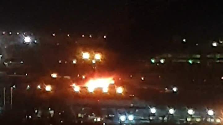 30 апреля в 23:41 на телефон МЧС поступило сообщение о пожаре по адресу: дорога на Турухтанные остро...