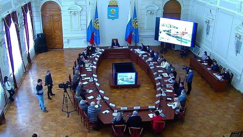 Заседание рабочего совещания с участием членов Градостроительного совета при Губернаторе Астраханской области 19.02.2021 (Ч.2)