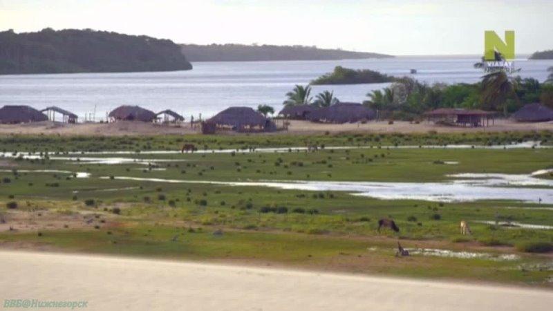 Тайны мировых озёр 4 Ленсойс Мараньенсис Песок и озёра Познавательный природа путешествие 2015