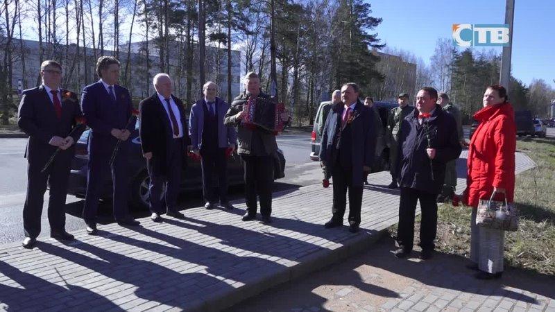 11 05 2021 Коллектив ЛАЭС почтил память героев Великой Отечественной войны