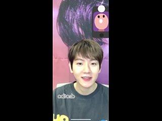 Baekhyun - In Korean, puppy barking sound is MongMong!