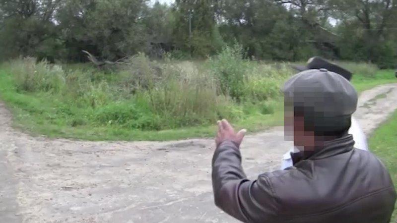 Видеокадры с участием обвиняемого в совершении особо тяжкого преступления