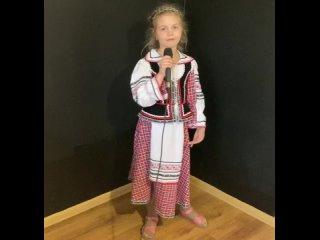 ВМ-47 Медянова Варвара 8 лет У моей России