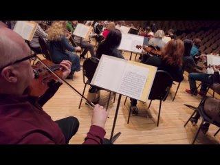 Репетиция концерта «Бетховен. К 250-летию со дня рождения»