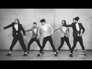 The Evolution of Dance - 1950 to 2019 - By Ricardo Walker's