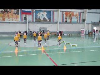Танец в стиле АЭРОБИКА (выступление команды Дс-30 на областных соревнованиях в Первомайске (Малышиада -2021),