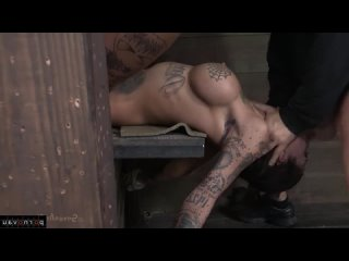 Bonnie Rotten [ Bdsm  Brunettes  Young  Skinny _ Squirt , Bondage , Tattoo ,