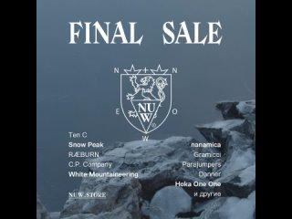 Nuw Final Sale