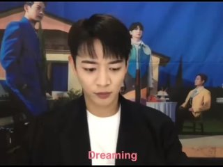 SHINee Video Call Event:  MINHO mentioned BAEKHYUN! - - Minho Hmm.. what songs do I listen to these days Hm