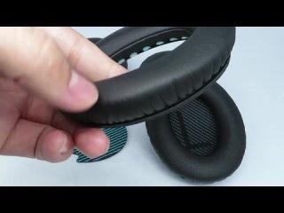 Запасные накладки для ушей подушек части совместимые с bose qc15 qc35 qc2 qc25 ae2 ae2i