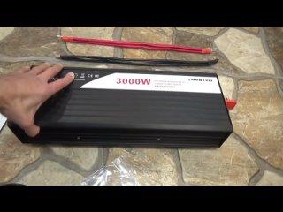 AKA KASYAN Мощный инвертор 3000 Ватт чистый синус от SWIPOWER
