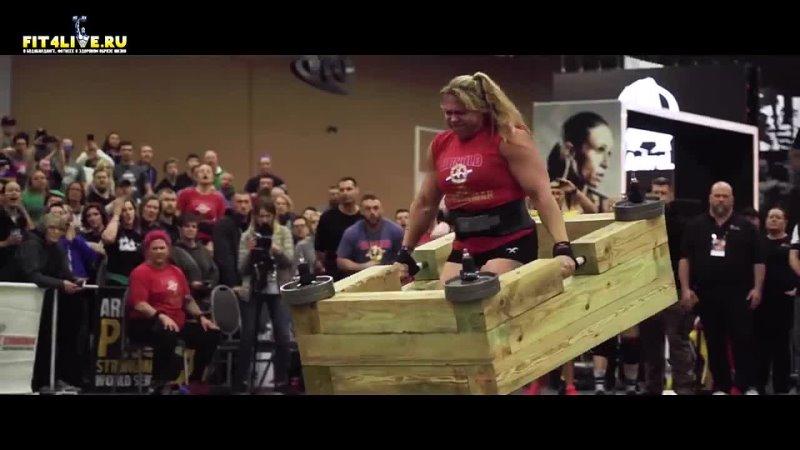 Сильнейшая женщина в мире Донна Мур Donna Moore strong wooman