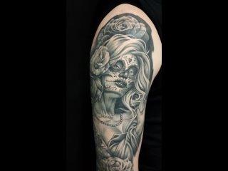 Полностью зажившая татуировка от нашего мастера Кати ^^