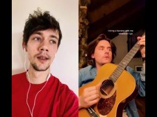 "Henning May - American boy /Estelle/ флешмоб ""дуэт с John Mayer""  tiktok"