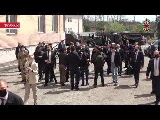 Михаил Мишустин прибыл в Грозный с рабочим визитом