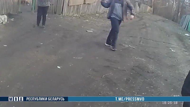 В Мозыре отец и сын задержаны за насилие в отношении милиционеров