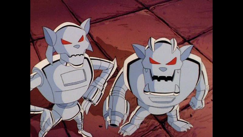 Коты быстрого реагирования Swat Kats The Radical Squadron Металликац 5 Серия 1 Сезон