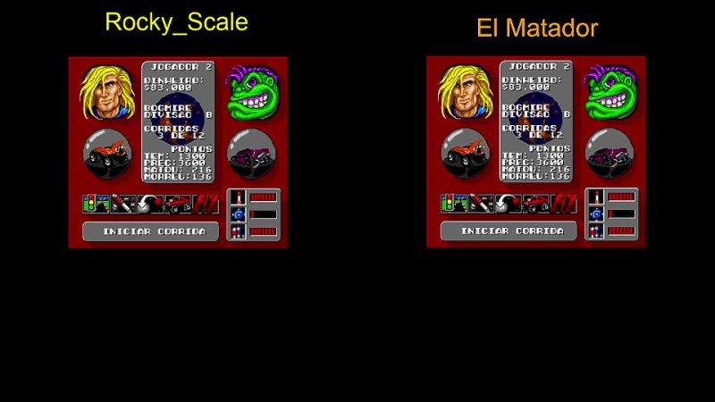 AB challenge Rocky Scale El Matador №2