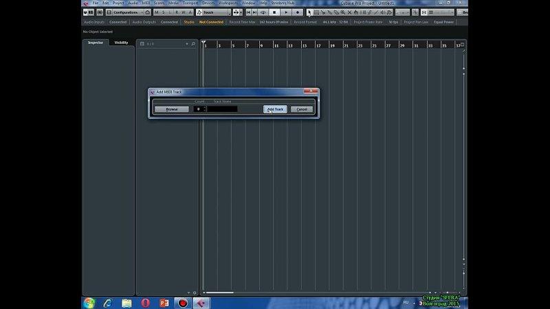 Играем на Korg Pa 500 VSTi инструментами из Cubase 8