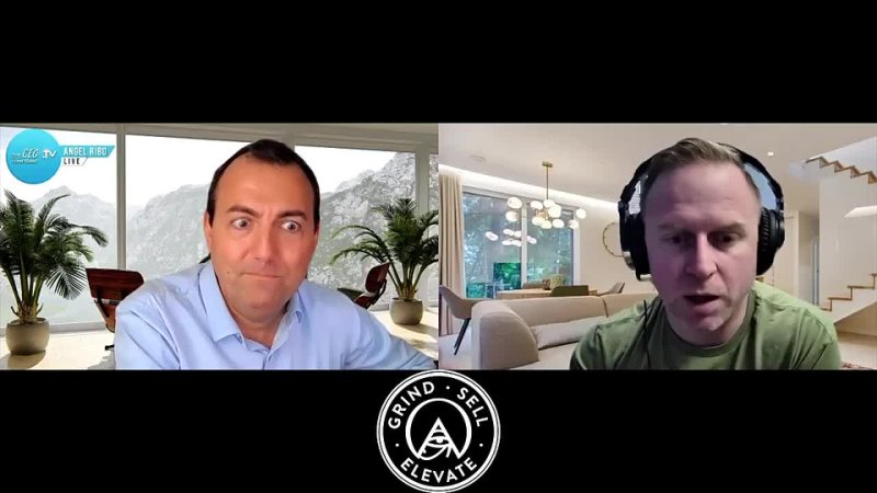 Grind.Sell.Elevate with Tyzer Evans interviewing The CEO Confidant - w_Angel Ribo