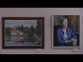 в Гатчинском городском Доме Культуры открыта выставка живописи гатчинского товарищества художников