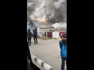 Пожар на Короленко-1. Химмаш. Саранск