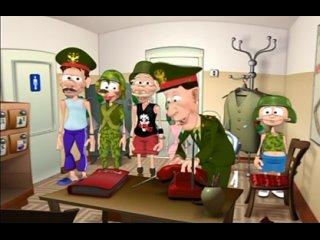 Дятлоws Типа про Армию 2 серия