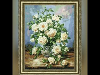 Процесс Юлии Бабкиной 'Букет белых роз' от ЗР.mp4