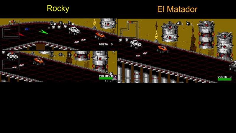 AB challenge Rocky Scale El Matador